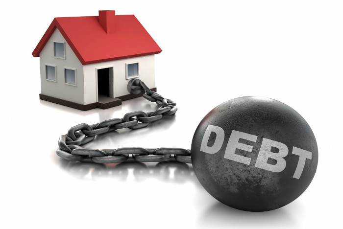 More than 60% of young property owners 'over-indebted'
