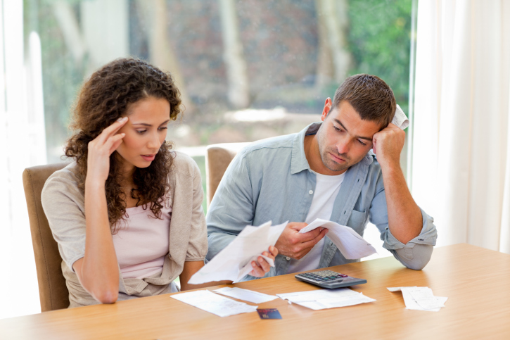 A third of couples not financially healthy, study finds.