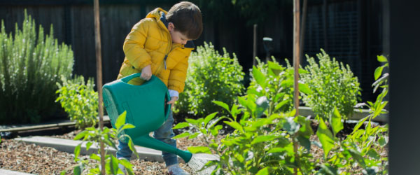 Plant some memories with your little ones this winter